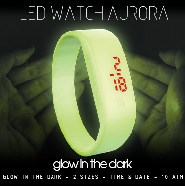 Led watch Aurora