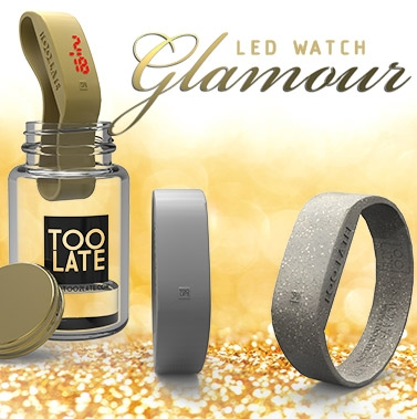 Led watch glamour