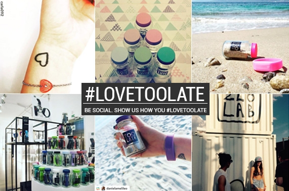 Too Late social - #lovetoolate