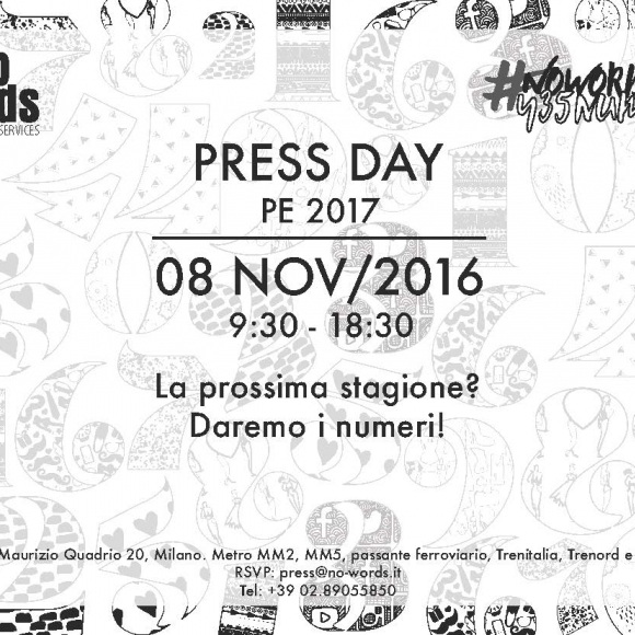 New PRESS DAY in #MILANO