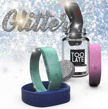Led watch Glitter